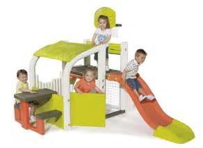 toboggan center aire de smoby pour enfant jardideco