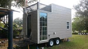 Small Homes For Sale On Wheels Tiny House On Wheels With Deck For Sale Tiny House