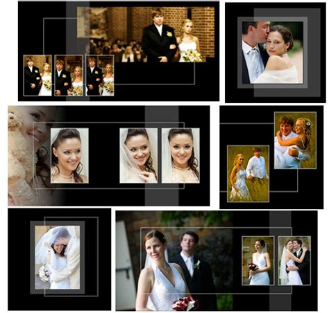 Wedding Album Templates Psd by Classic Wedding Templates Arc4studio