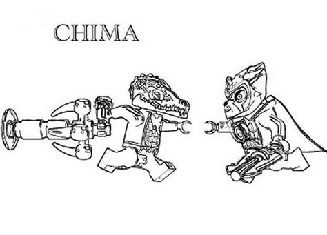 cragger coloring pages lego chima versus pagesfull sketch template