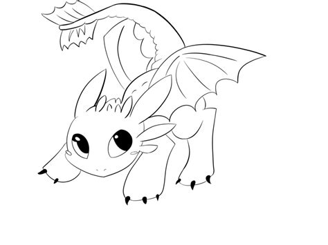 coloring pages toothless dragon baby toothless free colouring pages