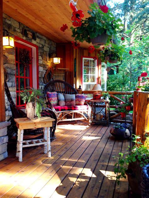 charming front porch dekorasjon hage rom romdekor