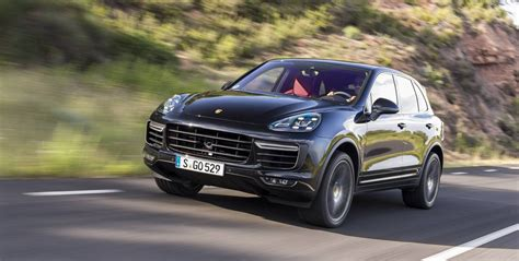 porsche suv 2015 black 2015 porsche cayenne facelift review gtspirit