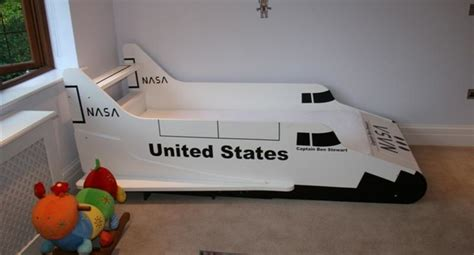 space shuttle bed the shuttle bed bluewell theme beds