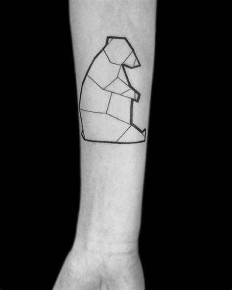 50 simple line tattoos for men manly ink design ideas