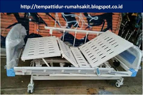 Bed Crank 3 Tempat Tidur Rumah Sakit Electric Tiang Infus Matras tempat tidur pasien 3 crank electric abs rz 33 rp 16