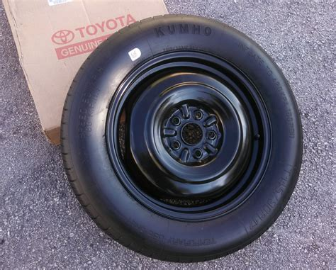 Toyota Tires 2004 2010 Toyota Spare Tire Wheel Donut 17 Quot Spare