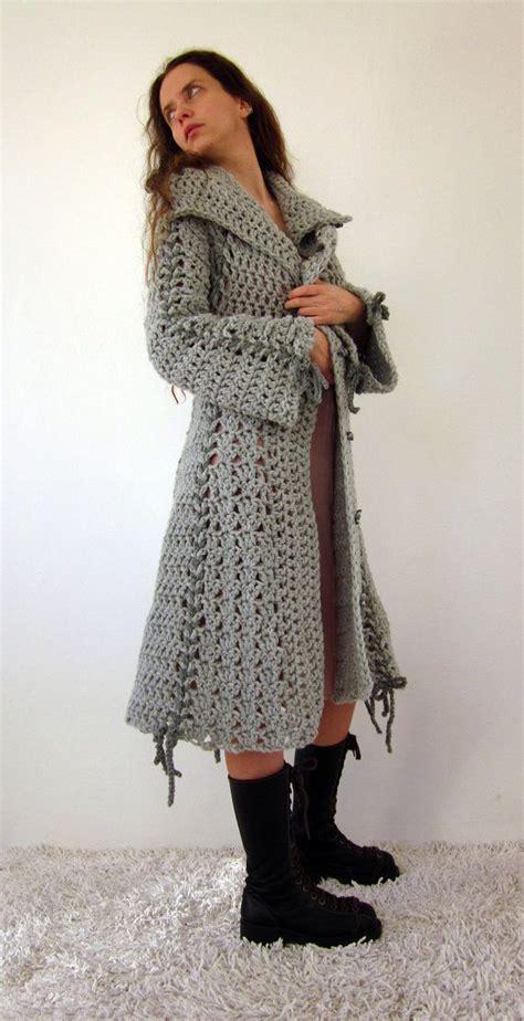 pattern coat pinterest crochet coat pinterest long sweater jacket