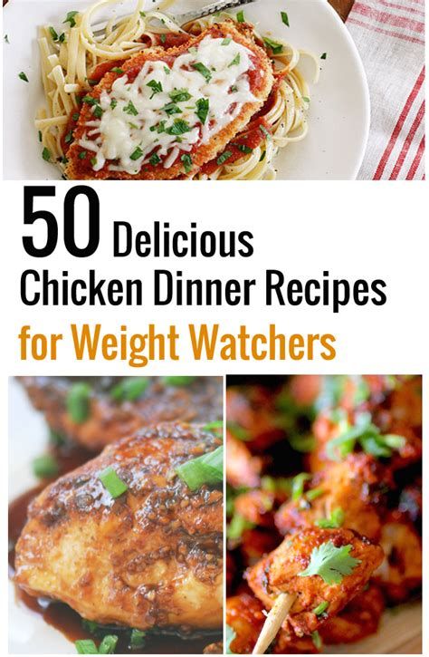 50 delicious chicken dinner recipes for weight watchers recipe diaries bloglovin