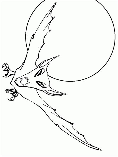 coloring page of a vire bat or b colouring pages