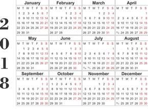 Calendar 2018 Printable Template Printable Calendar 2018 Printable Calendar Templates