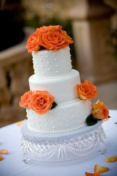 Hochzeitstorte Orange by Wedding Cakes Pictures Orange Roses Fall Wedding Cakes