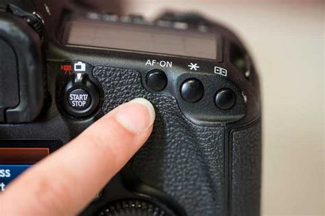 Setelan Button Back menggunakan teknik back button focus di kamera dslr