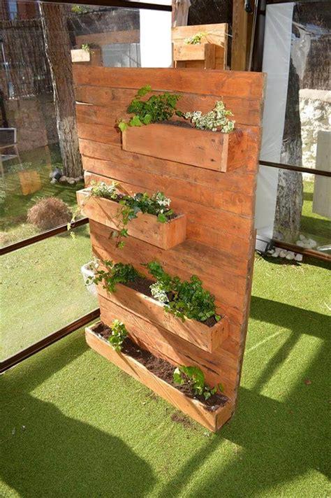 pallet vertical planter 99 pallets