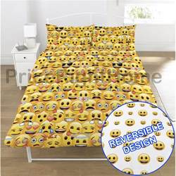 Duvet Queen Covers Emoji Duvet Cover Sets Single Amp Double Funny Smiley