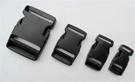 free fee 100 PCS 2.5cm Plastic Buckles Contoured Curved for ParaCord Bracelet webbing Release