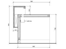 standard reception desk height 084 receptiondesk h200 gif 268 215 200 receptions