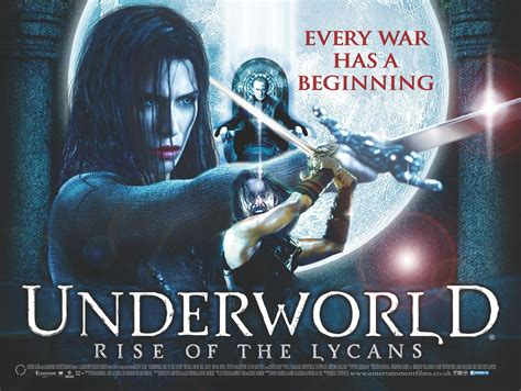 film underworld rise of the underworld rise of the lycans 2009 movie posters