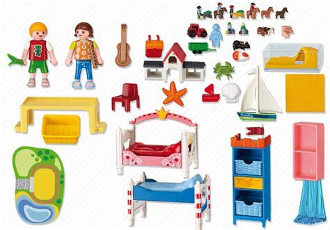 playmobil chambre enfant playmobil dollhouse chambre des enfants avec lits