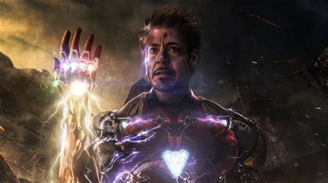 avengers endgame writers iron man couldnt