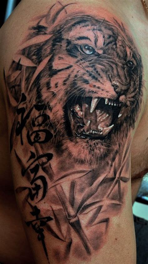 tiger shoulder tattoo designs tiger designs for 60 designs