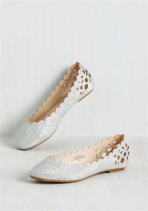 Silver Glitter Flats Wedding by Best 25 Silver Flats Ideas On Silver Flats