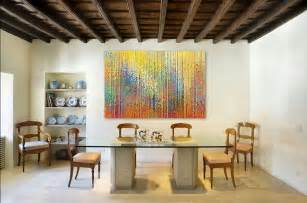 Wall Art For Dining Room Contemporary by Home Decorating With Modern Art