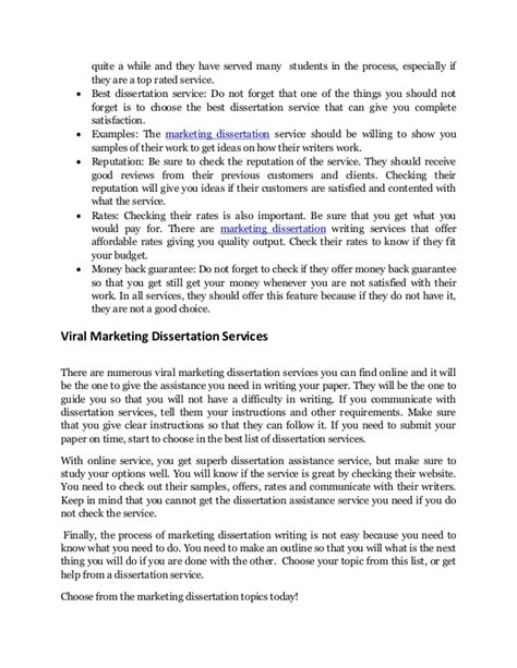 dissertation topics marketing discover a list of 40 unexplored marketing dissertation topics