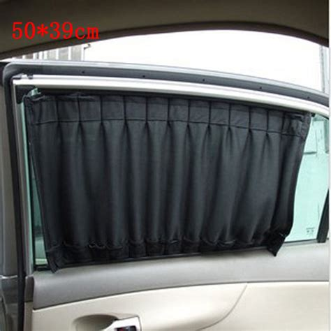 auto window curtains 2pcs 50 39cm universal car sun shade car window sunshade