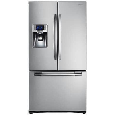 fridge freezer door buy samsung rfg23uers 3 door fridge freezer stainless