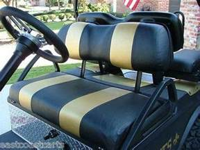 Seat Covers For Ezgo Golf Cart Ezgo Club Car Yamaha Golf Cart Two Tone Seat Cover Sets