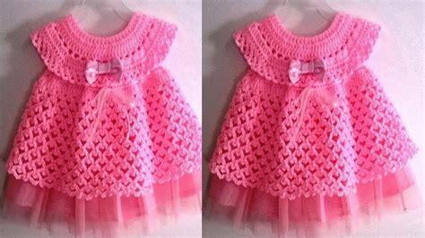 vestidos de tejido para nias imagenes realizar estos vestidos tejidos a crochet para ni 209 as y