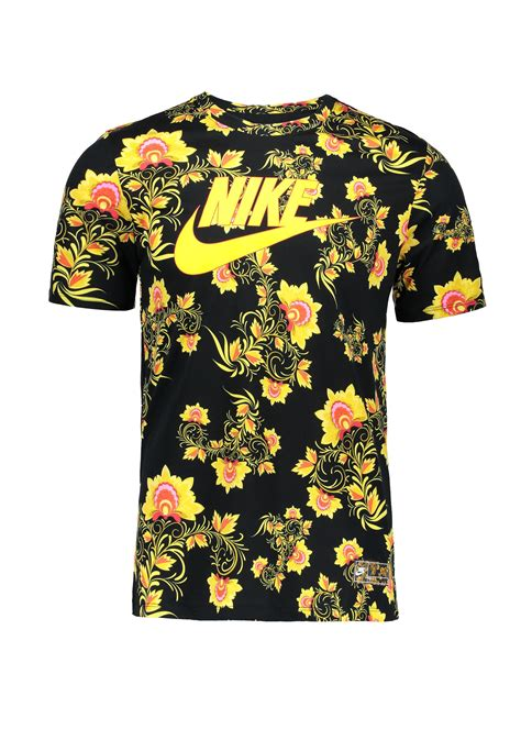 pattern t shirts online nike apparel pattern t shirt black yellow t shirts