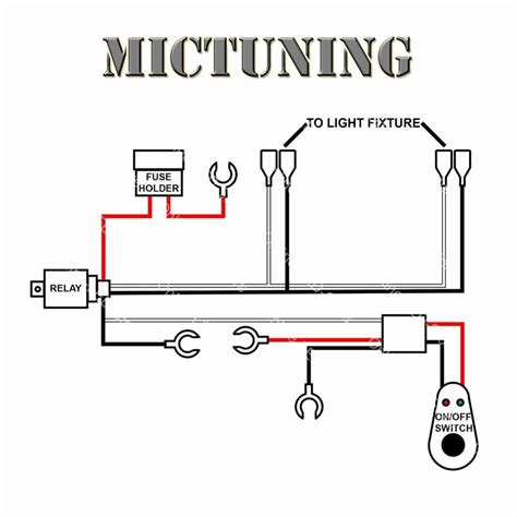 motorcycle light bar wiring diagram wiring diagram with