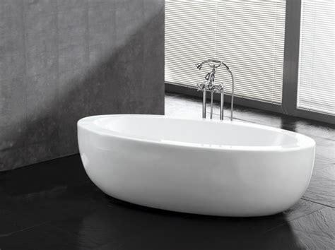 baignoire 238 lot contemporaine blanche basilia