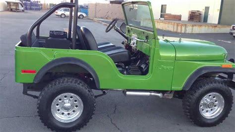 custom paint jeep 1973 jeep cj 5 4x4 304 v8 3 speed manual custom