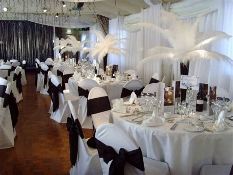 small wedding reception decorations small room