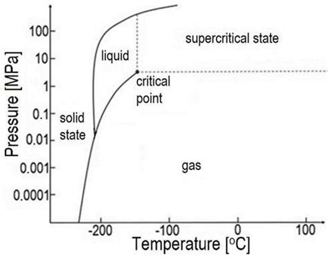 phase diagram of nitrogen the temperature pressure phase diagram for nitrogen scientific diagram
