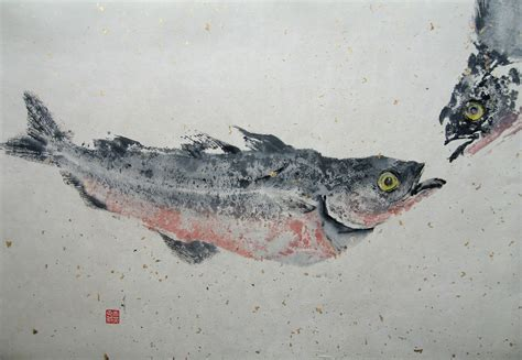 a among fishes the of gyotaku books an elephant a day elephant no 93 gyotaku