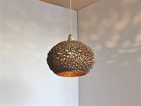 Ceramic Pendant Light Pierced Ceramic Pendant Light By Sejer Pottery At 1stdibs