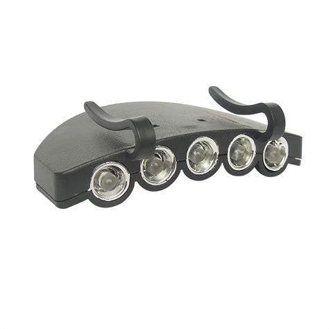 led clip on cap light led clip on brim cap light