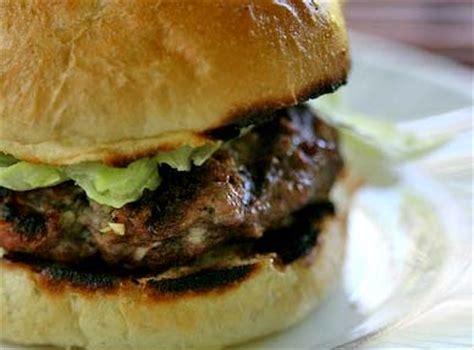 Panggangan Burger Glestradio Food Blue Cheese Burgers Recipe