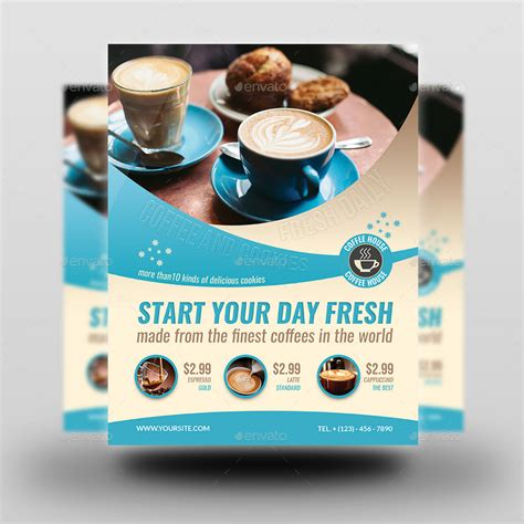 template flyer cafe cafe flyer vol 5 by owpictures graphicriver