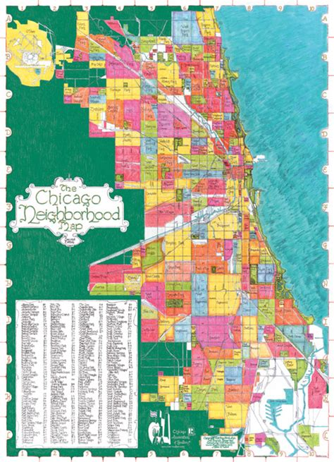 chicago map with neighborhoods getting here apaso