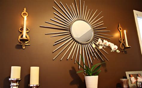mirror decorations 30 exceptional ideas for decorating with a sunburst mirror
