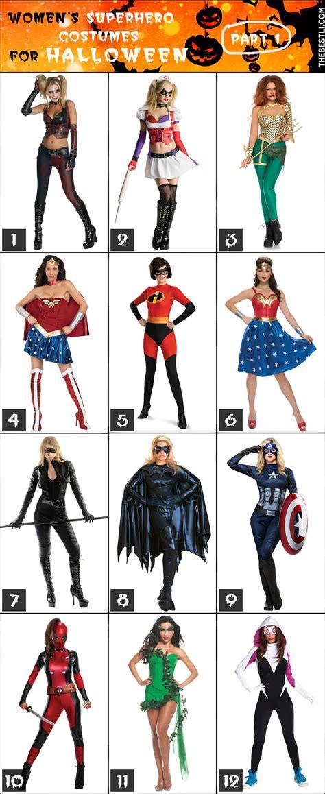 womens superhero costume ideas  halloween