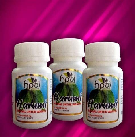 Harumi Bau Badan Organ Intim Wanita Pengurang Lendir harumi herbal untuk menjaga kesehatan wanita pondok ibu