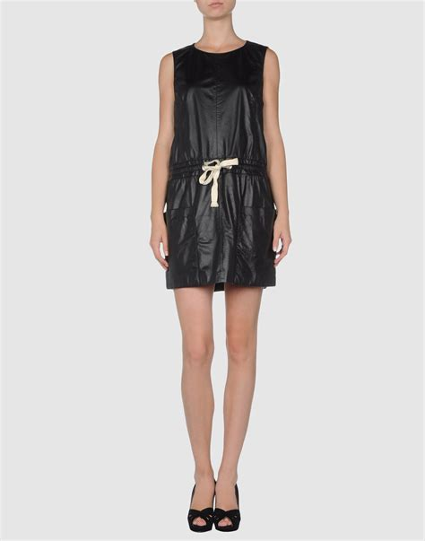 Msgm Dress msgm dress in black lyst