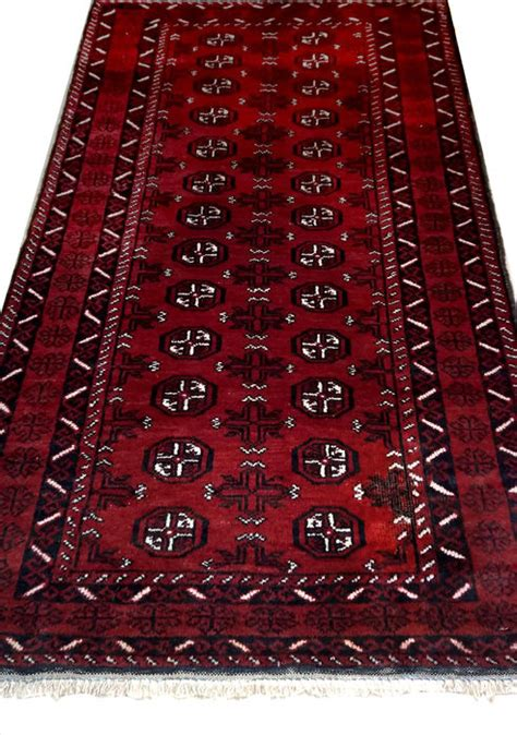 how to tell an authentic afghan rug authentic afghan mauri rug 213 x 112 cm circa 1980 catawiki