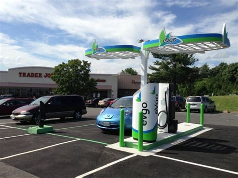 charging station nrg evgo installs nation s first all ev supercharger